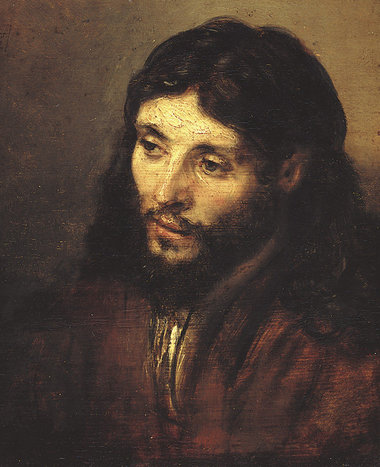 Head of Christ - Rembrandt van Rijn