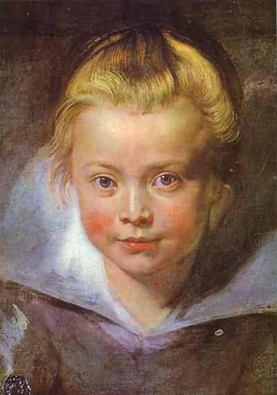 Head of a Girl - Peter Paul Rubens