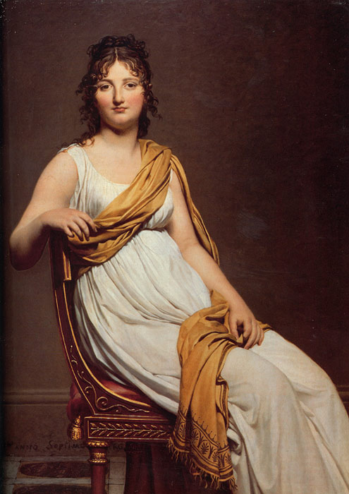 Henriette de Verninac - Jacques Louis David