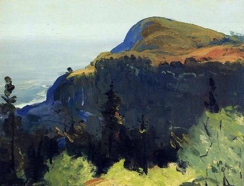 Hill and Valley - George Bellows