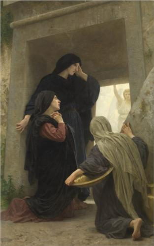 Holy Women at the Tomb - William Adolphe Bouguereau