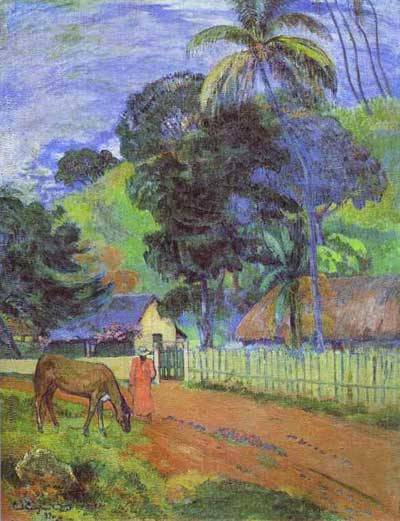 gauguin tahiti paintings