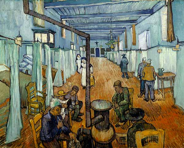 Hospital at Arles - Vincent van Gogh