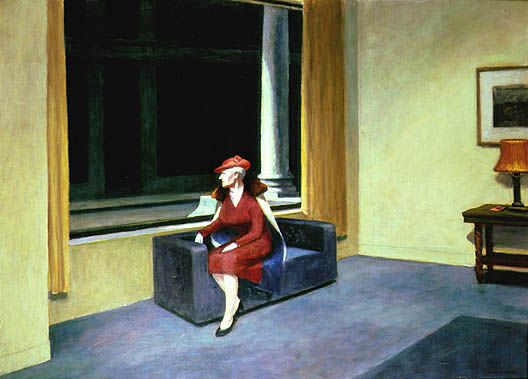 Hotel Window - Edward Hopper