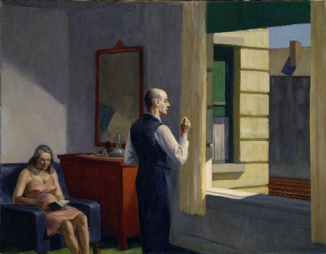 Hotel by the Railroad - Edward Hopper