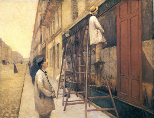 House Painters - Gustave Caillebotte