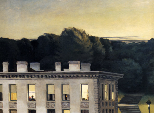 House at Dusk - Edward Hopper
