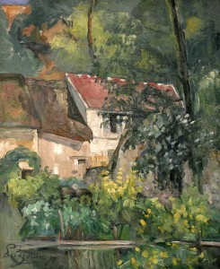 House of Pue La Croix - Paul Cezanne