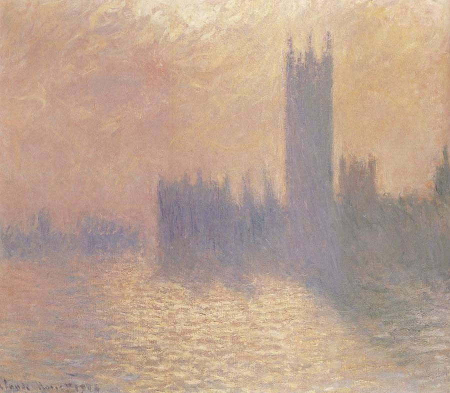 Houses of Parliament II - Claude Monet