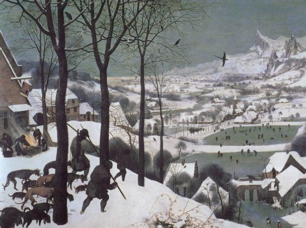 Hunters in the Snow - Pieter Bruegel