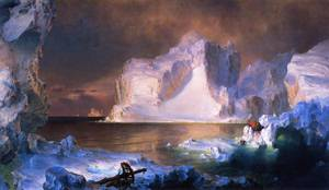 Icebergs - Frederic Edwin Church