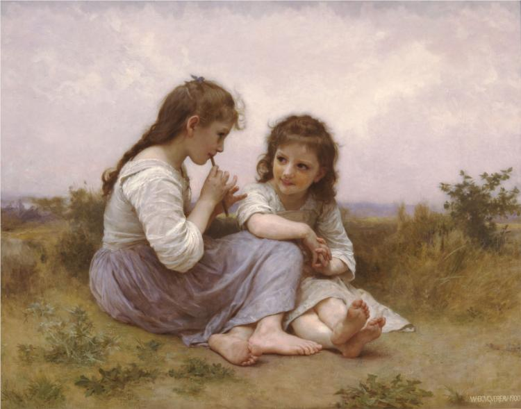 Idylle Enfantine - William Bouguereau