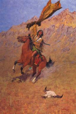 If Skulls Could Speak - Frederic Remington