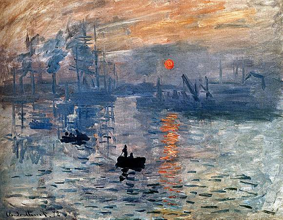 Impression, Sunrise - Claude Monet