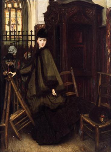 In Church - James Tissot