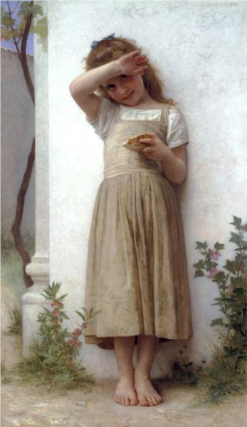 In Penitence - William Adolphe Bouguereau