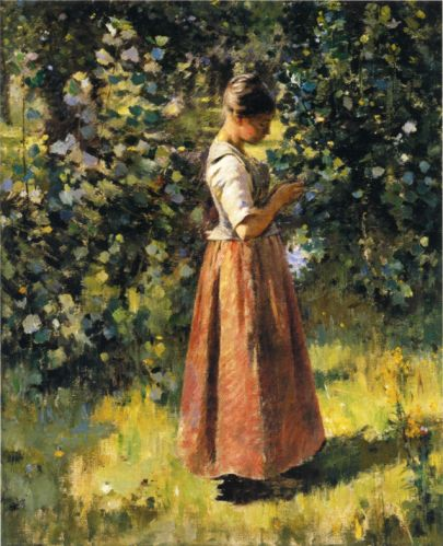 In the Grove - Theodore Robinson