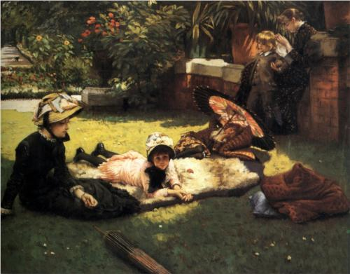 In the Sunshine - James Tissot