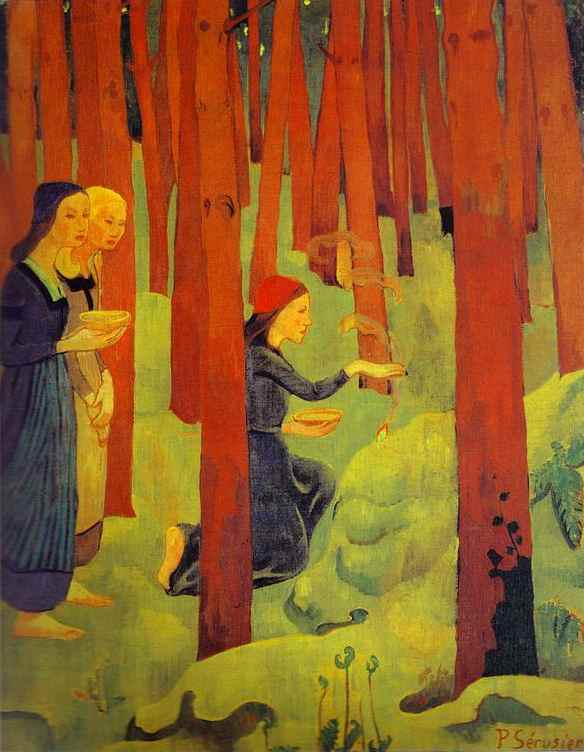 Incantation (Sacred Forest) - Paul Serusier