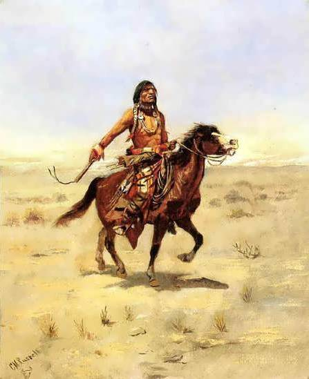 Indian Rider - Charles Marion Russell