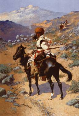 Indian Trapper - Frederic Remington