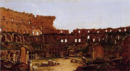 Interior of the Colosseum, Rome - Thomas Cole