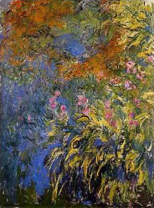 The Water Lilies Claude Monet Painting Reproductions For