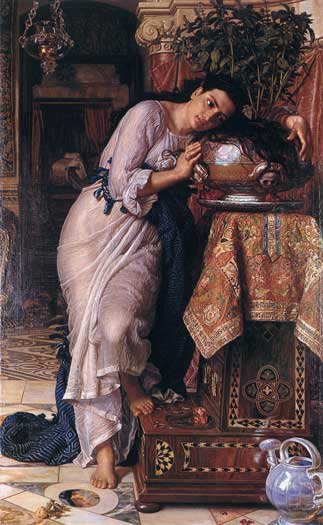 Isabella and the Pot of Basil - William Holman Hunt