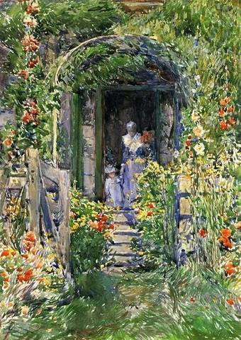 Isles of Shoals Garden - Childe Hassam
