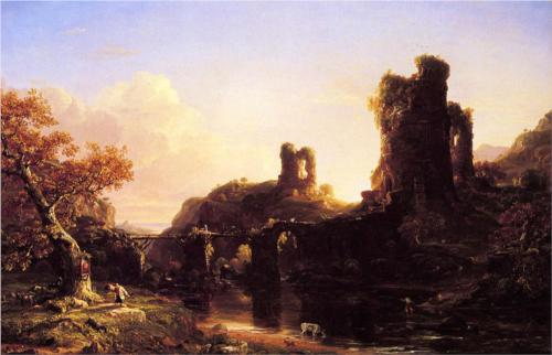 Italian Autumn - Thomas Cole