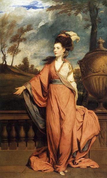 Jane, Countess of Harrington - Joshua Reynolds
