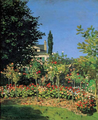 Jardin En Fleurs Claude Monet Oil Painting Reproductions And Prints