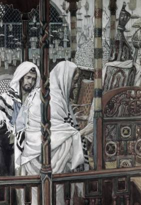 Jesus Teaching in the Synagogue - James Tissot
