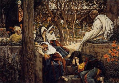 Jesus at Bethany - James Tissot