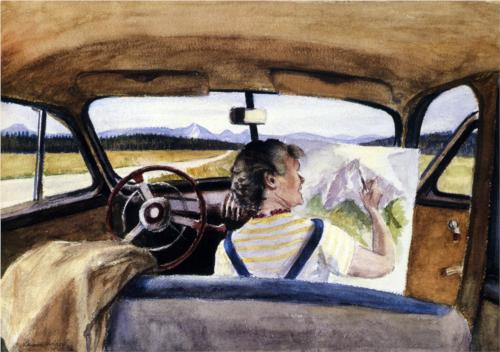 Jo in Wyoming - Edward Hopper