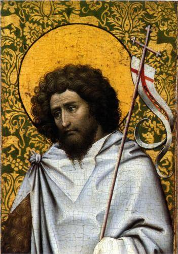 John the Baptist - Robert Campin