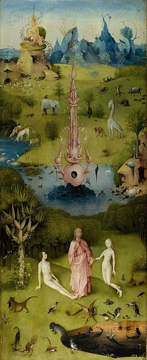 Joining of Adam and Eve - Hieronymus Bosch