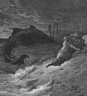 Jonah and the Whale - Gustave Dore