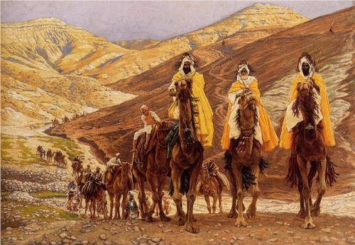 Journey of the Magi - James Tissot