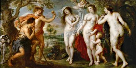 Judgment of Paris - Peter Paul Rubens