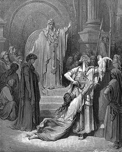Judgment of Solomon - Gustave Dore