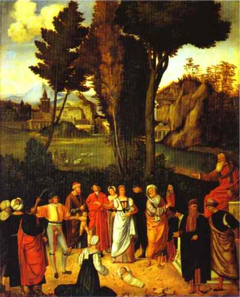Judgment of Solomon - Giorgione Giorgio Barbarella