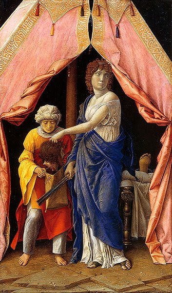 Judith and Holofernes - Andrea Mantegna