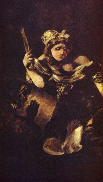 Judith and Holofernes - Francisco Goya