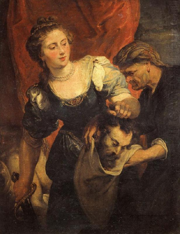Judith with the Head of Holofernes - Peter Paul Rubens