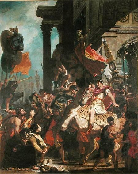 Justice of Trajan - Eugene Delacroix
