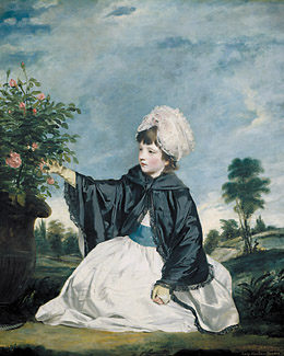 Lady Caroline Howard - Joshua Reynolds