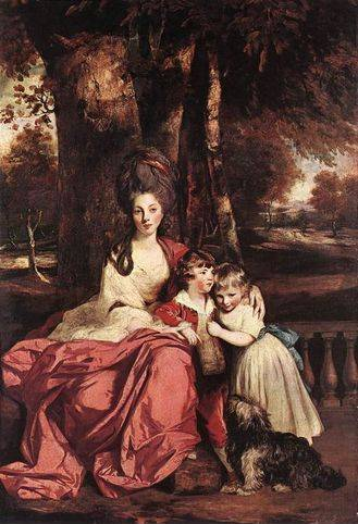 Lady Elizabeth Delme and her Children - Joshua Reynolds