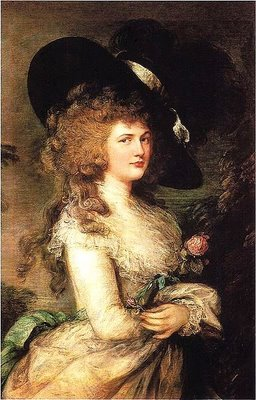Lady Georgiana Cavendish, Duchess of Devonshire - Thomas Gainsborough