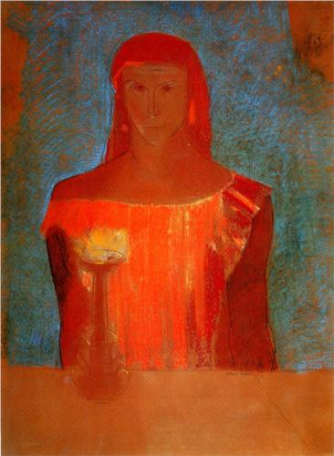 Lady Macbeth - Odilon Redon